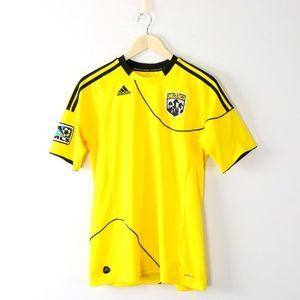 Adidas ClimaLite Columbus Crew MLS Jersey Shirt